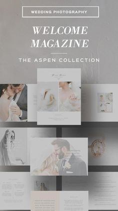 Photography Templates, Photography Pricing, Wedding Photography, Photography Ideas, Magazine Template, Wedding Album, Business Design, Business Tips, Magazines