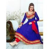 latest-hot-selling-blue-georgette-anarkali-suit