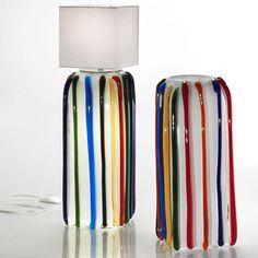Table lamp / original design / Murano glass MI AMI by Hilton McConnico FORMIA-VIVARINI