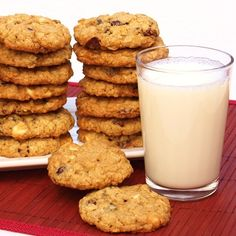 Cranberry Oatmeal Cookies. I use yogurt chips instead of chocolate chips