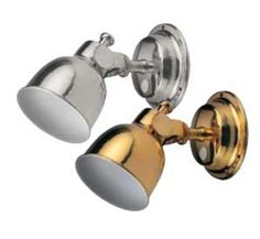 Berthlight - Attractive berth light with multi directional movement & on/off switch. Chrome Finish, Beams, Bulb, It Is Finished, Shades, Led, Boating, Camper, Shutters