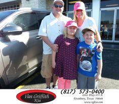 Happy Anniversary to Erica on your #Kia #Sorento from Michael Garr at Van Griffith Kia!  https://deliverymaxx.com/DealerReviews.aspx?DealerCode=PXVJ  #Anniversary #VanGriffithKia