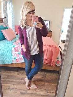 e78bee84082745 I shopped at Walmart for my Fall wardrobe and found 9 outfits to mix and  match from their new line called Time and Tru.