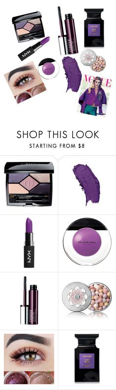 """""""Untitled #38"""" by us91 ❤ liked on Polyvore featuring beauty, Christian Dior, NYX, Elizabeth Arden, Clinique, Guerlain, Tom Ford and Whiteley"""