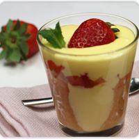 Mochi srl - Ricette - Tiramisù alle fragole con crema di limoncello