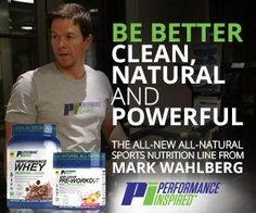 Performance Inspired is Mark Wahlberg's new supplement brand! The A-List celebrity and fitness aficionado, Marky Mark, is ready to take on the beast!