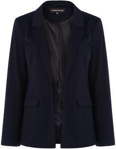 Womens navy jacket from Warehouse - £45 at ClothingByColour.com