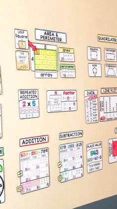 Big, bright math word walls that students can see from anywhere in your math classroom! Scaffolded math word walls bring math vocabulary to life. Classroom Word Wall, Math Wall, Math Word Walls, Math Classroom, Math Resources, Math Activities, Fraction Activities, Math Words, Math Vocabulary Words