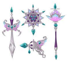 crystal weapons クリスタル 武器