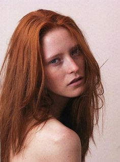 Natural Red #beach hair