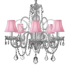 Take a look at this Gray Gallery Crystal Chandelier on zulily today!
