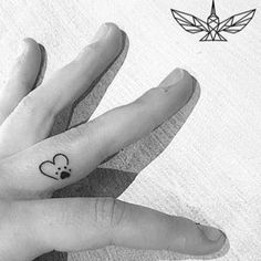 Tattoodo - Search tattoos, tattoo styles, tattoo artists and tattoo shops! Small Dog Tattoos, Memorial Tattoos Small, Tattoos For Dog Lovers, Tiny Tattoos For Girls, Mini Tattoos, Cute Tattoos, Tattoos For Women, Tatoos, Tattoos Skull