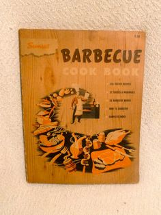 Sunset Barbecue 1950s Cookbook  Vintage BBQ by SecretsBookStore, $8.00