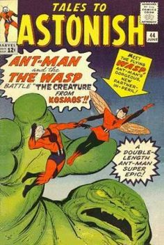 Ant-man - The Wasp - The Creature From Kosmos - Double-length - Marvel - Jack Kirby