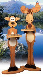 Moose Bird Feeder Woodworking Plan woodworking plan