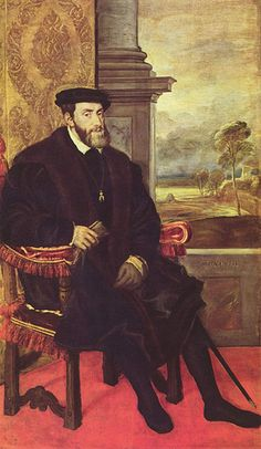 Charles V (24 February 1500 — 21 September 1558) Heir of the Habsburgs of Austria, the Valois of Burgundy, the Trastamara of Castile, and the House of Aragon. Son of Philip I of Castile (Philip the Handsome) and Juana of Castile (Joan the Mad of Castile). Maternal grandparents were Ferdinand II of Aragon and Isabella I of Castile. Paternal grandparents were the Holy Roman Emperor Maximilian I and Mary of Burgundy, whose daughter Margaret raised him.