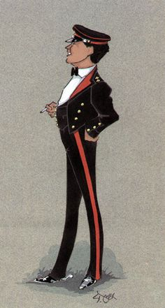 British; Royal Regiment of Artillery, Officer ,Mess Dress by Simon Dyer