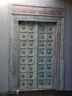 Porte Indienne- paysagerie extérieure- Détail