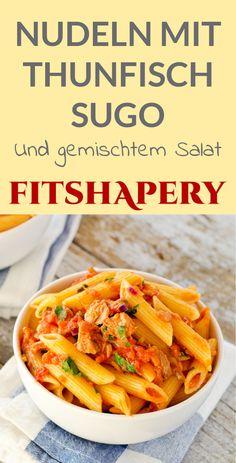 Nudeln mit Thunfisch Sugo - ein wahrer Klassiker. Diese Thunfisch Pasta geht super schnell und schmeckt einfach himmlisch. Ein köstliches Sugo, das auch Leuten schmeckt, die keinen Fisch mögen.