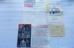 VARAY & MAGNENANT Roulements à Billes-Soupapes Tarifs Citroën Delage 1933 Réf 04   Collections, Objets publicitaires, Publicités papier   eBay!
