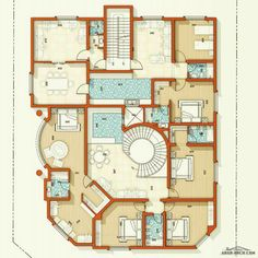 2bhk House Plan, House Layout Plans, Family House Plans, Best House Plans, Modern House Plans, House Layouts, House Floor Plans, Home Design Plans, Plan Design