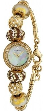 Accurist Ladies Charmed Beaded Watch