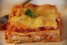 Lasagna ..