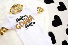 Haters Gonna Hate Shirt Baby Shower Gift by HauteBelliesShop