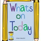 Write your Daily Schedule up on the board with this great set of clocks and pictures!  Included in this pack are clocks and pictures to use for som...