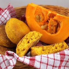 Pumpkin buns (in Polish)