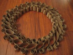 wreaths craft | last night i was bored and feeling crafty so i started this project ...