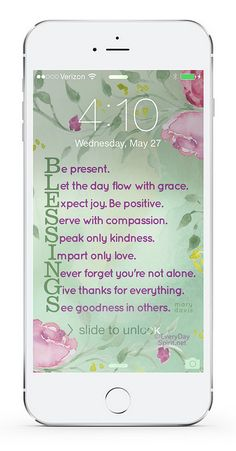 Daily messages that are spiritual, positive and inspirational.