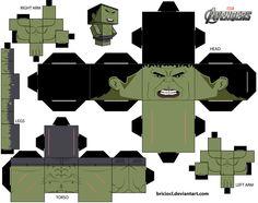 Cubeecraft Template Hulk by briciocl