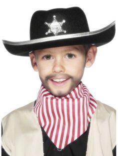Kids Sheriff Hat From Angels Fancy Dress