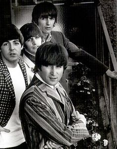 Beatles with loud jackets