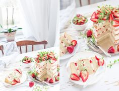 Rustic Strawberry Tart with Thyme, Olive Oil & Meringue Buttercream
