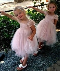 Items similar to Mia RUE DEL SOL French lace and silk tulle dress for baby girl Flower girl dress blush princess dress tutu dress on Etsy Simple Flower Girl Dresses, Wedding Flower Girl Dresses, Flower Girl Tutu, Lace Flower Girls, Princess Wedding Dresses, Little Girl Dresses, Blush Bridesmaid Dresses, Wedding Bridesmaids, Wedding
