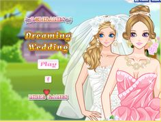 #girls_go_game Games Dreaming Wedding-Plan a Dream DayWedding for your best friend Jenny in this beautiful, fun and romantic game! http://www.girlsgo2games.com/games-dreaming-wedding.html
