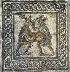 Essay/Term paper: Gladiators of ancient rome-greece