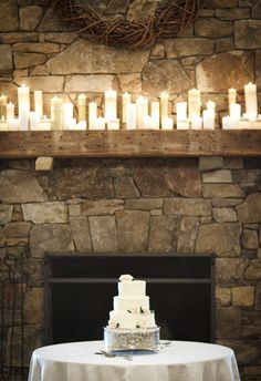Inspiration for a Winter Wedding in Vail on Borrowed & Blue.  Photo Credit: Rob Garland Photography