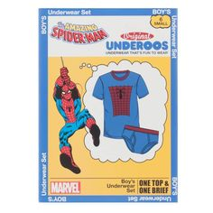 Marvel Spiderman Boy s Underoos – Nerdco Toy Craft c68d95bd9