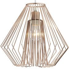 Dar Needle 1 Light Copper Non Electric Pendant Ceiling Lamp Shades, Ceiling Lights, Lampshades, Glass Shades, Beautiful Homes, Chandelier, Copper, Pendant, Electric