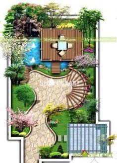 Super yard garden design decks 44 Ideas – Garden & Tips Small Garden Plans, Garden Design Plans, Landscape Design Plans, Small Garden Design, Yard Design, English Garden Design, Landscape Edging, House Landscape, Hard Landscaping Ideas
