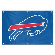Buffalo Bills NFL Applique & Embroidered Team Banner (36x24)
