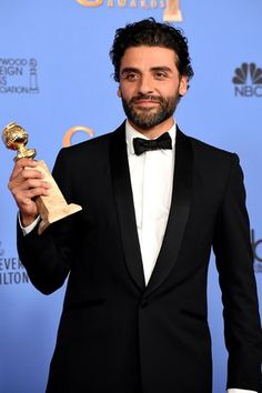 Oscar Isaac~Show Me a Hero Best Actor~Miniseries or Television Film Golden Globes 2015