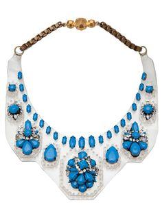 SHOUROUK - Starburst bib necklace