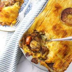 Jachtschotel met rundvlees en appel Curry, Multicooker, Lasagna, Quiche, Winter, Beef, Breakfast, Ethnic Recipes, Food