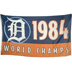 World Series Champs the Detroit Tigers 1984 ... makes me smile!