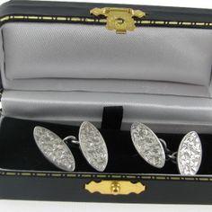 #Gents #Silver #Cufflinks #Chester #Hallmark #1910 #Jewelry #The #Antiques #Room #Galway #Ireland Galway Ireland, Chester, Diamond Engagement Rings, Cufflinks, Antiques, Silver, Room, Vintage, Jewelry