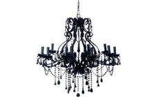 Jetset Times Living: 12 Ways To Sexy Up Your Home With Modern Baroque - Jetset Times Chandelier Tattoo, Black Restaurant, Chandelier Makeover, Baroque Furniture, Modern Baroque, Baroque Architecture, Black Chandelier, Gothic Home Decor, Gothic House